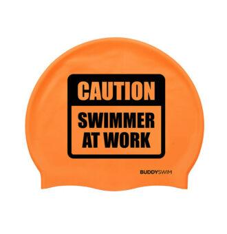 gorro-silicona-buddyswim-csw-naranja